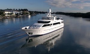 Phoenix One Yacht on Gold Coast Broadwater